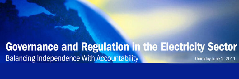 21-Governance And Regulation in the Electricity Sector