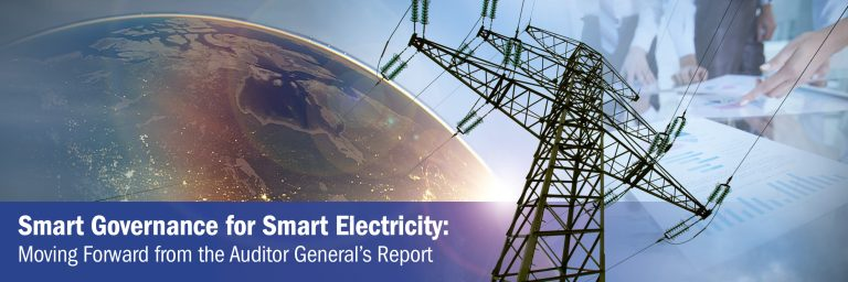 Smart Governance for Smart Electricity: Moving Forward from the Auditor General's Report