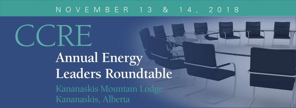 CCRE Annual Energy Leaders Roundtable-Kananaskis Mountain Lodge, Kananaski, Alberta