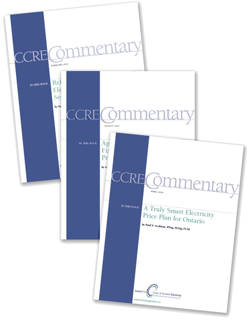 CCRE Commentary covers