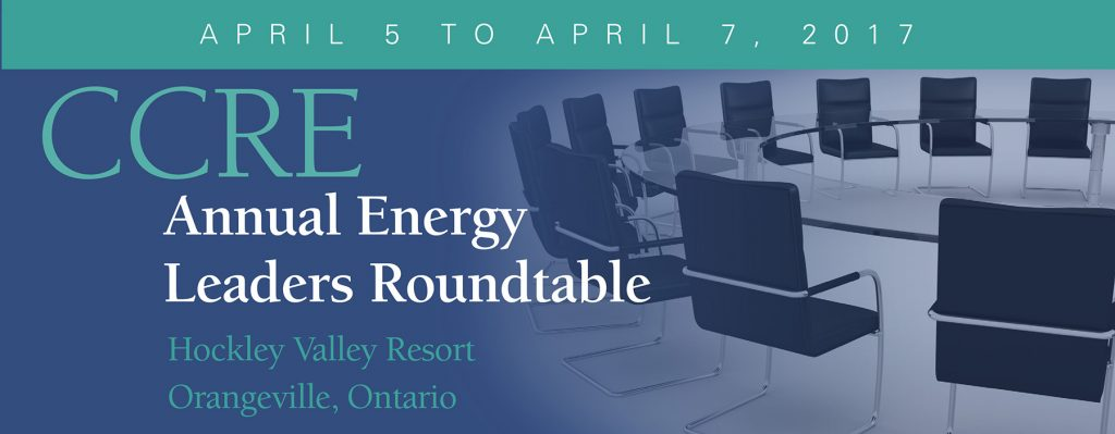 Annual Energy Leaders Roundtable-Hockley Valley, 2016